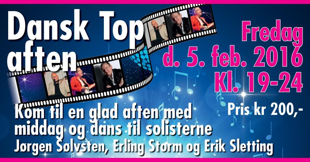 Halbal 2016 Dansk Top