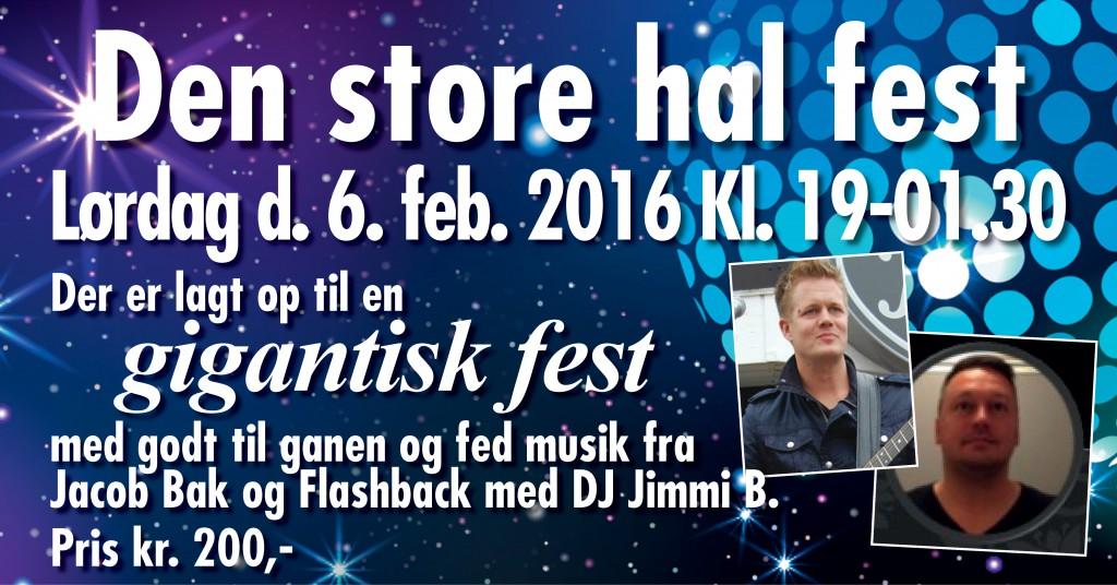 Halbal 2016 Den store hal fest